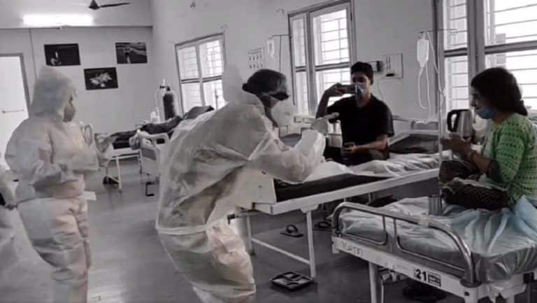 Docs, Medics in This Hospital Dance To Cheer Up Coronavirus Patients. Watch Viral Video