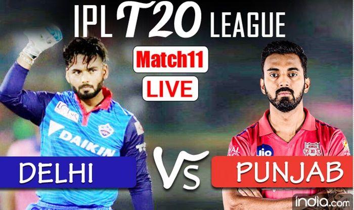 LIVE IPL 2021 DC vs PBKS Live Cricket Score, Today's Match ...