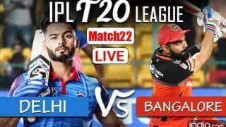 LIVE DC vs RCB IPL 2021 Live Cricket Score, Today Match Scorecard: Delhi Capitals, Royal Challengers Bangalore Look to Outsmart Each Other in 'Battle of Equals'