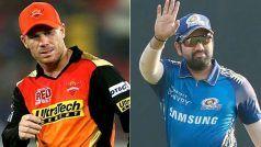 IPL 2021, MI vs SRH, Live Score and Updates: डेविड वार्नर 36 रन बनाकर हुए रनआउट