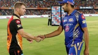 Ipl 2021 mi vs srh mumbai indians opt to bat adam milne debut for mi sunrisers hyderabad makes 4 changes 4593152