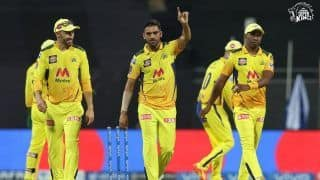 IPL Report: Chahar's Four-for Guides Chennai Super Kings to 6-Wicket Win Over Punjab Kings