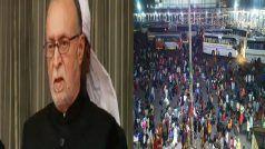 Delhi Lockdown: दिल्ली के LG ने लॉकडाउन की घोषणा के बाद प्रवासियों के शहर छोड़ने पर जताई चिंता