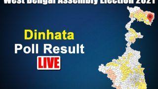 Dinhata Assembly Election Result 2021: Nisith Pramanik of BJP Leading