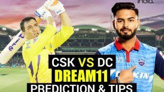 CSK vs DC Dream11 Team Prediction VIVO IPL 2021: Captain, Fantasy Playing Tips - Chennai Super Kings vs Delhi Capitals, Today's Probable XIs For T20 Match 2 at Wankhede Stadium, Mumbai 7.30 PM IST April 10 Saturday