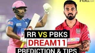 RR vs PBKS Dream11 Team Prediction VIVO IPL: Captain, Fantasy Playing Tips - Rajasthan Royals vs Punjab Kings, Today's Probable XIs For T20 Match 4 at Wankhede Stadium, Mumbai 7.30 PM IST April 12 Monday
