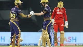IPL Match Today Report, PBKS vs KKR 2021 Scorecard: Eoin Morgan, Bowlers Shine as Kolkata Knight Riders Beat Monday Blues to Get Past Punjab Kings