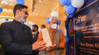 Sports Minister Kiren Rijiju Inaugurates Rowing Centre in Srinagar