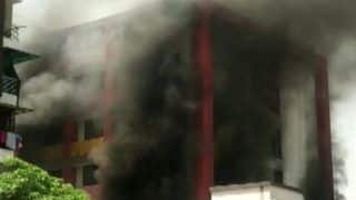 Ahmedabad School Fire: Blaze Under Control, Trapped Students Rescued | Watch Video