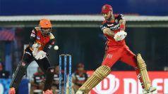 IPL 2021: Glenn Maxwell ने 5 साल बाद जड़ी IPL में फिफ्टी, RCB को सम्मानजनक स्कोर पर पहुंचाया