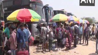 No Lockdown In Gurugram: लॉकडाउन की आशंका के बीच गुरुग्राम से बड़ी संख्या में मजदूरों का पलायन