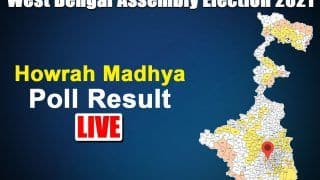 Howrah Madhya Assembly Election Result 2021: TMC's Arup Roy Secures Victory