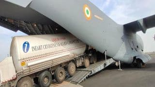As Hospitals Gasp For O2, Indian Air Force to Fly in 23 Oxygen Plants From Germany
