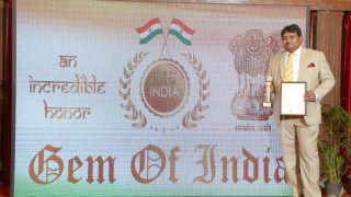 Dr Hari Krishna Maram Receives Prestigious 'Gem of India' Award, Felicitated For Contribution Towards Digital India
