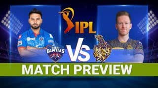DC vs KKR IPL 2021: Delhi Capitals vs Kolkata Knight Riders Today's Probable XIs, Pitch report, weather forecast, head-to-head