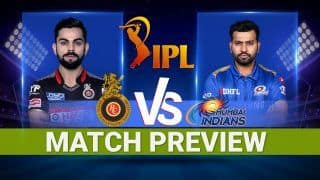 IPL 2021, MI vs RCB Match Preview: Predicted Playing XI, Latest Pitch And Weather Report