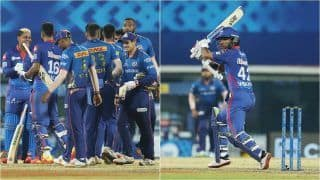 IPL 2021 Points Table Latest Update After DC vs MI, Match 13: Delhi Capitals Claim 2nd Spot After Beating Mumbai Indians; Shikhar Dhawan Strengthens Grip on IPL Orange Cap, Avesh Khan Takes 2nd Position in Purple Cap Tally