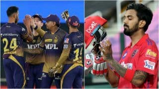 IPL 2021 Points Table Today Latest After PBKS vs KKR, Match 21: Kolkata Knight Riders Climb to 5th Spot After Beating Punjab Kings; KL Rahul Remains at 2nd Spot in IPL Orange Cap List