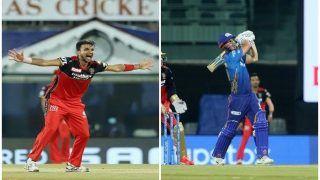 IPL 2021 Points Table After MI vs RCB, Match 1, Chennai: Virat Kohli-Led Bangalore on Top; Chris Lynn Holds Orange Cap, Harshal Patel Bags Purple Cap After Season Opener