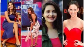 Sanjana to Nashpreet, HOTTEST Anchors on Show During IPL 2021