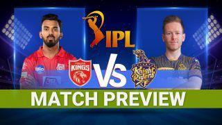 IPL 2021 Kolkata Knight Riders vs Punjab Kings : Today's Match Playing 11s, Narendra Modi Stadium Pitch Report, Ahmedabad Weather