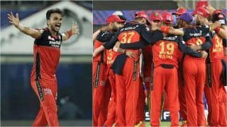 IPL 2021 Points Table Today Latest After DC vs RCB, Match 22: Royal Challengers Bangalore Claim No.1 Position After Beating Delhi Capitals; Harshal Patel Strengthens Grip on Purple Cap List