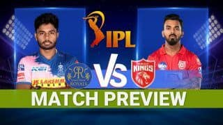 IPL 2021 Rajasthan Royals vs Punjab Kings at Wankhede Stadium, Mumbai: Team Prediction, Pitch Report, Weather Report