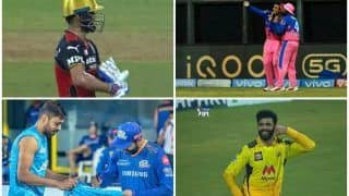 IPL 2021: Virat Kohli's 'Cradle Celebration' to Riyan Parag's 'Mock Selfie', Moments That Will Bring a Smile on Your Face During Covid Times