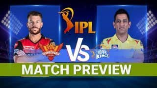 IPL 2021 Match 23, CSK vs SRH: Probable Playing XIs, Head to Head, Weather Forecast, Pitch Report