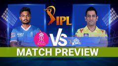 IPL 2021 चेन्नई सुपर किंग्स vs राजस्थान रॉयल्स मैच प्रीव्यू: Video जानिए क्या हो सकती है Predicted Playing 11, पिच रिपोर्ट और मौसम का हाल