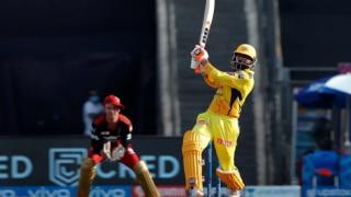 IPL 2021, CSK vs RCB:वानखेड़े में जडेजा ने की छक्कों की बारिश; चेन्नई ने बैंगलोर के सामने रखा 192 रन का लक्ष्य