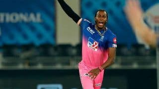 Jofra Archer Ruled Out of IPL 2021