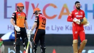 IPL 2021 Scorecard, PBKS vs SRH Today Match Report: Khaleel Ahmed, Jonny Bairstow Shine as Sunrisers Hyderabad Thrash Punjab Kings by Nine Wickets to Register First Win of Season
