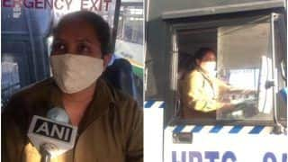 Meet Seema Thakur, The First HRTC Woman Bus Driver to Drive on Inter-State Route