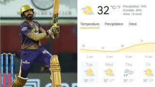 IPL 2021, KKR vs MI Match 5 at MA Chidambaram Stadium: Weather Forecast, Pitch Report, Predicted Playing XIs, Head to Head, Toss Timing, Squads For Kolkata Knight Riders vs Mumbai Indians