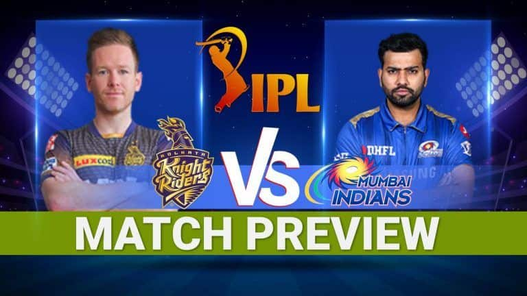 IPL 2021 Mumbai Indians vs Kolkata Knight Riders Match Preview: Playing 11s, Pitch And Weather Report