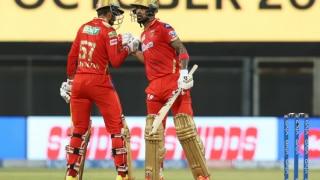 IPL 2021, RR vs PBKS: केएल राहुल-दीपक हुड्डा की विस्फोटक बल्लेबाजी के दम पर पंजाब का स्कोर 221/6