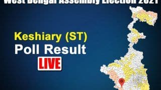 Keshiary Assembly Election Result 2021: TMC's Paresh Murmu Wins