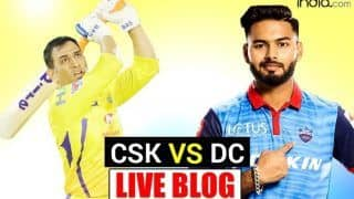 LIVE IPL 2021 CSK vs DC Live Cricket Score And Today's Match Updates: Delhi Capitals Face Tough Test Against MS Dhoni-Led CSK