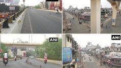 COVID19: Maharashtra में Lockdown जैसे प्रतिबंधों के बीच दिखे ये नजारें