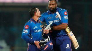 MI vs RR, Vivo IPL 2021 Highlights: क्विंटन डी कॉक ने जड़े नाबाद 70 रन, मुंबई ने दर्ज की दमदार जीत