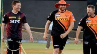 Srh vs kkr ipl 2021 match 3 sunrisers hyderabad won the toss and have opted to field against kolkata knight riders 4576914