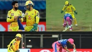 MS Dhoni Predicts Perfectly Before Ravindra Jadeja Dismisses Jos Buttler During CSK-RR IPL 2021 Game | WATCH VIDEO