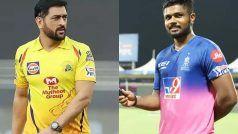 IPL 2021, CSK vs RR, Live Score and Updates: संजू सेमसन एक रन बनाकर आउट