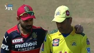 'Beauty of IPL' - Kohli-Dhoni BROMANCE at Toss is Winning Hearts | PICS