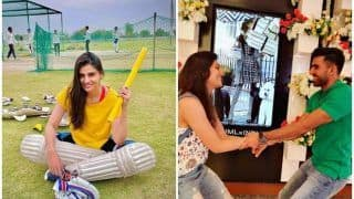 Deepak Chahar's Supermodel Sister Malti Reacts After CSK Pacer's Record Feat vs KKR in IPL 2021 | SEE POST