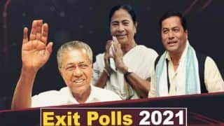 Exit Polls Predict Return of Mamata, Vijayan And Sonowal; Change in Tamil Nadu, Puducherry | Highlights