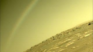 NASA Clarifies After Rainbow Spotted on Mars in Photo Clicked by Perseverance Rover
