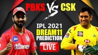 PBKS vs CSK Dream11 Team Prediction VIVO IPL 2021: Captain, Vice Captain, Fantasy Playing Tips, Today's Probable XIs For Today's Punjab Kings vs Chennai Super Kings T20 Match 8 at Wankhede Stadium, Mumbai 7.30 PM IST April 16 Friday