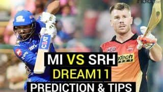 MI vs SRH Dream11 Team Prediction VIVO IPL 2021: Captain, Fantasy Playing Tips, Today's Probable XIs For Today's Mumbai Indians vs Sunrisers Hyderabad T20 Match 9 at MA Chidambaram, Chennai 7.30 PM IST April 17 Saturday